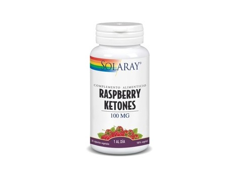 Raspberry Ketones 100mg Solaray 30 Capsules