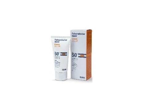 ISDIN Facial Sunscreen SPF 50 + Cream Color 50 ml.
