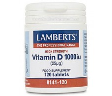 Lamberts Vitamin D 1000 IU (25 mcg) 120 capsules