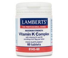 Lamberts Complejo de Vitamina K 60 comprimidos
