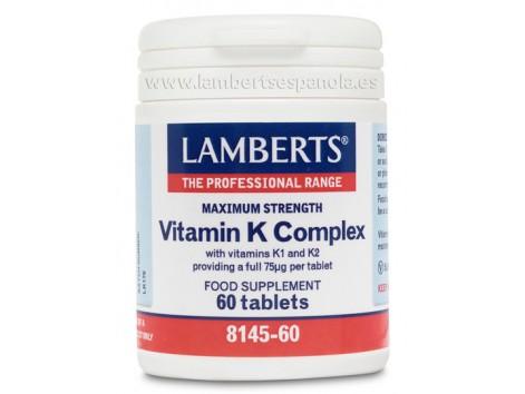 Lamberts Vitamin K Complex 60 tablets
