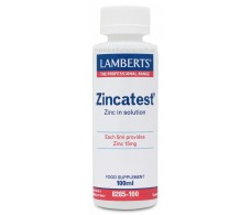 Zincatest 100ml Lamberts.