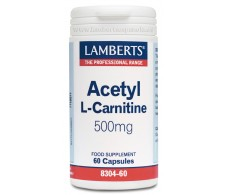 Lamberts Acetil L-Carnitina 500 mg.