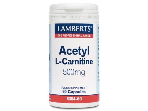 Lamberts Acetyl L-Carnitine 500 mg.