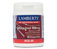 Lamberts Ubiquinol 100mg. 60 cápsulas