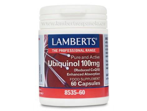 Ubiquinol 100mg Lamberts. 60 capsules