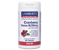 Lamberts Arándano Rojo 18750mg. 60 comprimidos