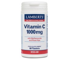 Lamberts Vitamin C 1000mg. with bioflavonoids and rose hips 60 tablets.