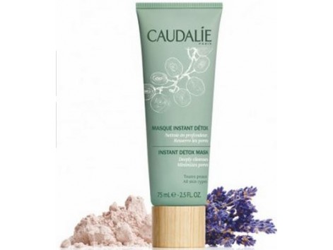 Caudalie Masque Instant Detox 75ml Pink and brown clay.