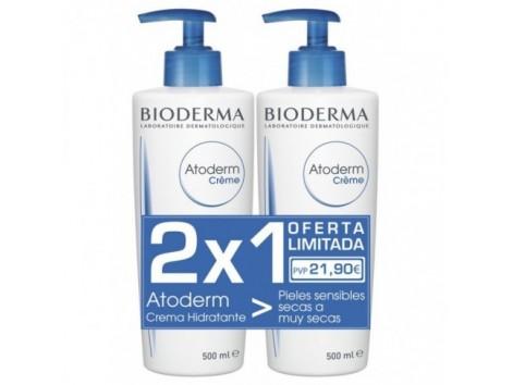 Atoderm Bioderma Sensitive Skin Moisturizer Offer 2 X 1.