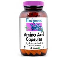 Bluebonnet 60 vegetarian capsules 750mg Amino Acids
