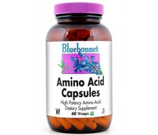 Bluebonnet Aminoácidos 750mg 60 cápsulas vegetales