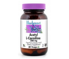 Bluebonnet Acetyl L-Carnitine 500mg 30 capsules.