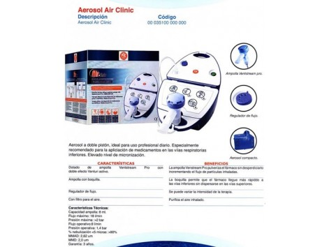 Aerosol Air Clinic. Pic painless - artsana