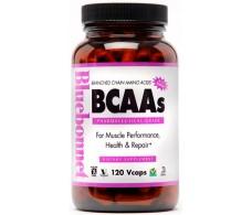 Bluebonnet BCAA 120 cápsulas vegetales