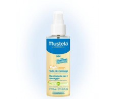 Mustela 110ml massage oil.