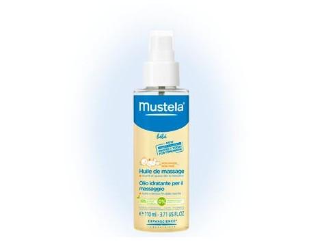 Mustela 110ml massage oil.