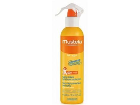 Mustela Sun Protection Face & Body Spray SPF 50 200ml.