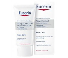 Eucerin AtopiControl Facial Cream 50ml dry irritated skin