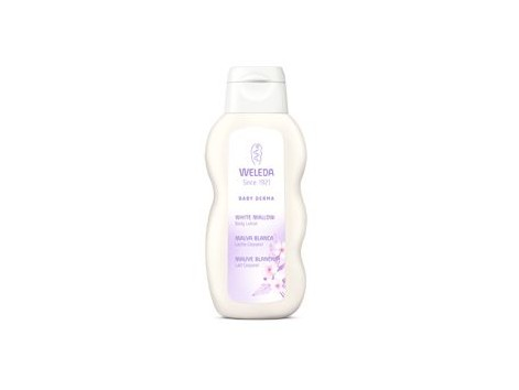 Weleda Baby Body Milk Derma White Malva 200 ml.