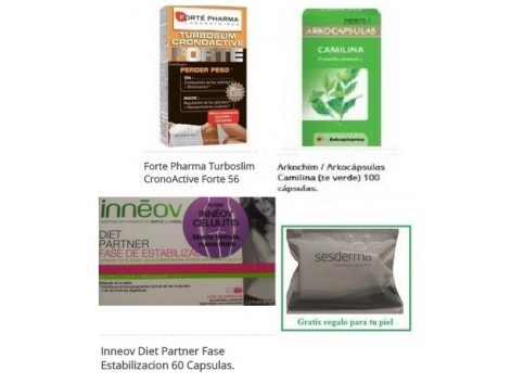 Inneov Camilina Turboslim Cronoative + Gift Farmacia-Internacional
