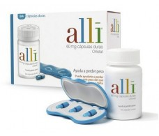 Alli 60 mg 120 hard capsules