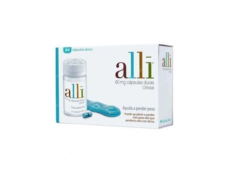 Alli 60 mg 84 hard capsules