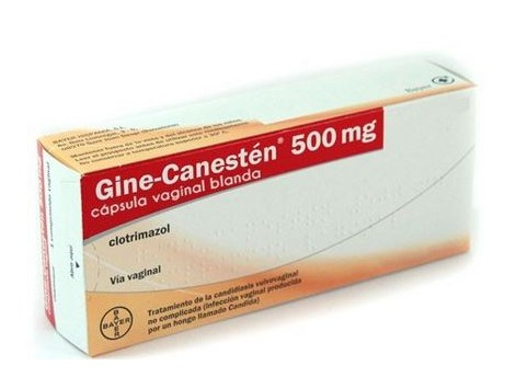 Gine Canesten 500mg 1 vaginal softgel