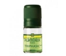 Serum Rene Furterer Triphasic antifall regenerator. 8 bottles