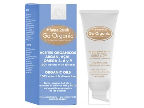 Go Organic Farma Dorsch oil for face, body and dry or very dry hair.