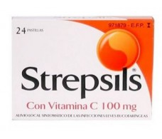 Vitamin C Strepsils lozenge 24
