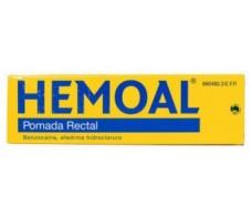 Hemoal Pomada Rectal 50 Gramos. Con cánula para aplicación