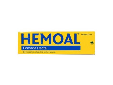 Hemoal Rectal Ointment 50 grams. With application cannula