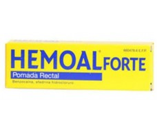 Hemoal Forte Pomada Rectal 50 Gramos. Con cánula para aplicación