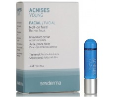 Young Acnises sesderma Roll On 4ml for acne lesions.