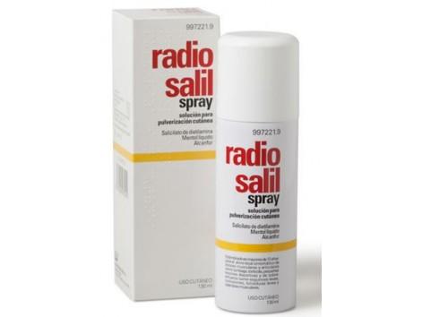Radio Salil spray cutaneous spray solution for 130ml.
