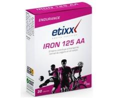 Etixx Iron 125 AA 30 capsulas. Complemento alimenticio