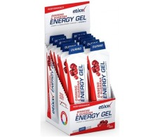 Etixx Energy Gel 50 gramos 12 Sticks Ginseng & Guarana.