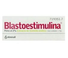 Blastoestimulina 2% Polvo cutáneo 5 gramos en frasco