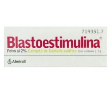 Blastoestimulina 2% powder 5 grams jar skin