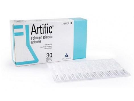 Artific 3.20 mg / ml eye drops solution 30 unidosis