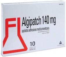 Algipatch 140 mg 10 apósitos adhesivos medicamentosos