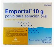 Emportal 10 g polvo para solución oral 50 sobres
