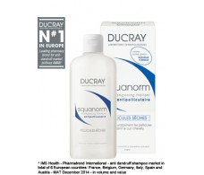 Ducray Squanorm  Dandruff Shampoo - Dry dandruff 200 ml.