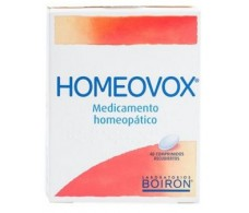 Homeovox 40 tablets. Homeopathy Boiron