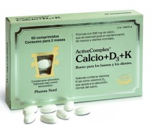 Activecomplex Calcio + D3 + K 60 comprimidos. Pharma Nord