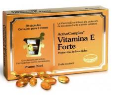 Activecomplex Vitamina E Forte 60 comprimidos. Pharma Nord