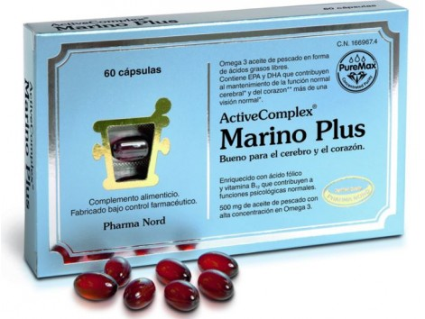 Activecomplex Marino Plus 60 tablets. Pharma Nord