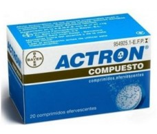 Actron Compound 20 effervescent tablets