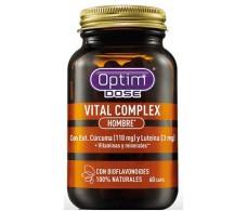 Optim Dose Vital Complex Hombre 60 cápsulas